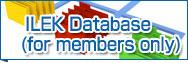 ILEK Database (for members only)